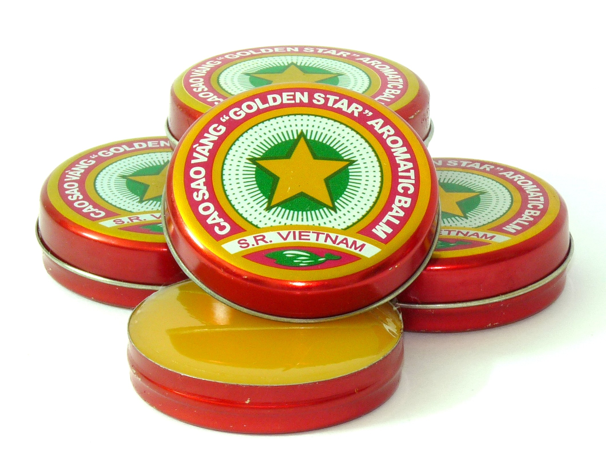 1 Box of 12 - Golden Star Balm